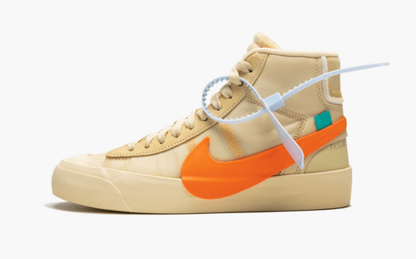 Nike Blazer Mid Off-White All Hallow's Eve Men's - Pimp Kicks