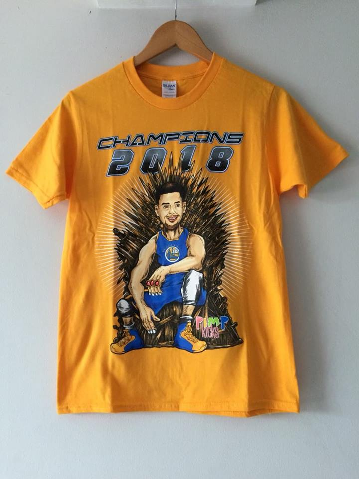 Pimp Kicks Stephen Curry Yellow Champion Shirt - Pimp Kicks