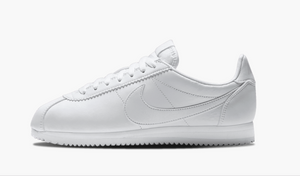 Nike Classic Cortez Leather White Women's - Pimp Kicks