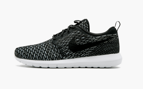 Nike Flyknit Roshe Run Black Men's