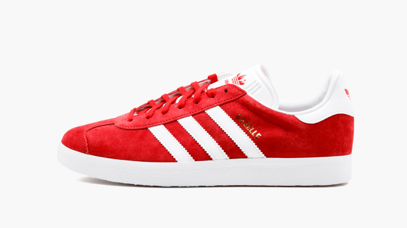 Adidas Gazelle Powder Red Men's - Pimp Kicks
