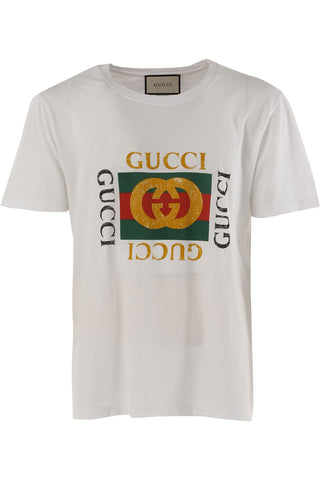 Gucci Print White Shirt - Pimp Kicks