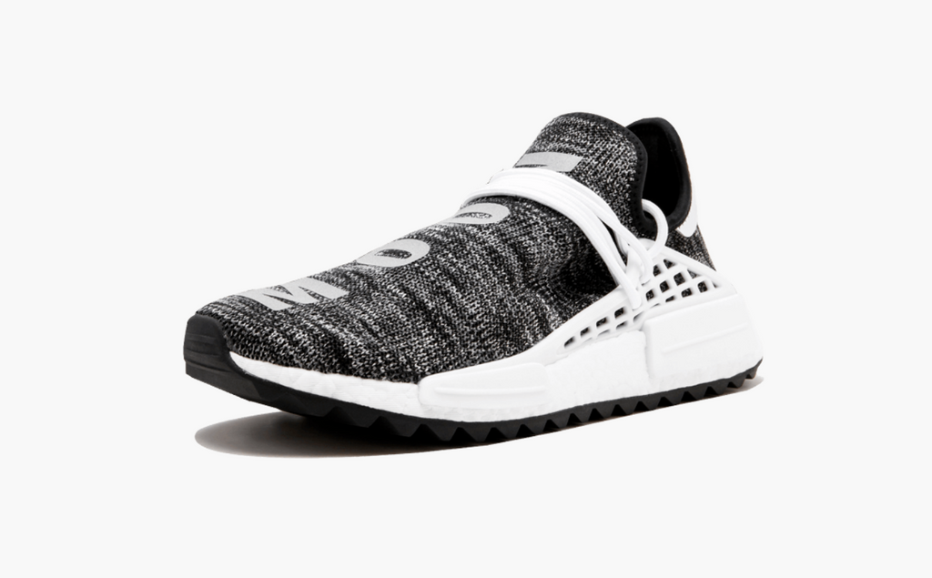 266004de8052 ... Adidas NMD Pharrell Human Race Trail Oreo Men s - Pimp Kicks ...