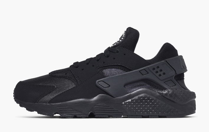 Nike Air Huarache Run Triple Black Men's - Pimp Kicks