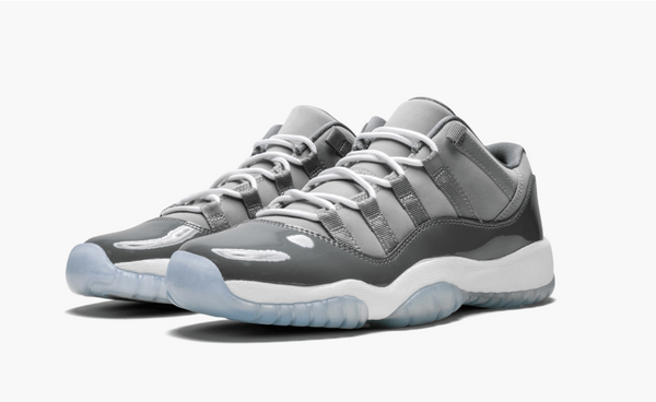 Jordan 11  Low Cool Grey (Gradeschool) - Pimp Kicks