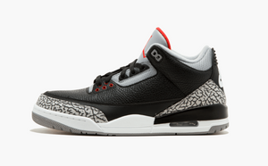 Jordan 3 Black Cement Men's - Pimp Kicks
