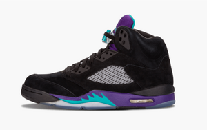 Jordan 5 Black Grape Men's - Pimp Kicks