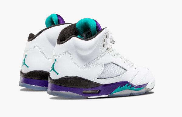 Jordan 5 White Grapes (Gradeschool) - Pimp Kicks