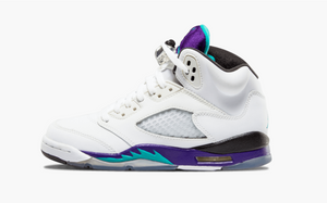Jordan 5 White Grapes (Gradeschool)