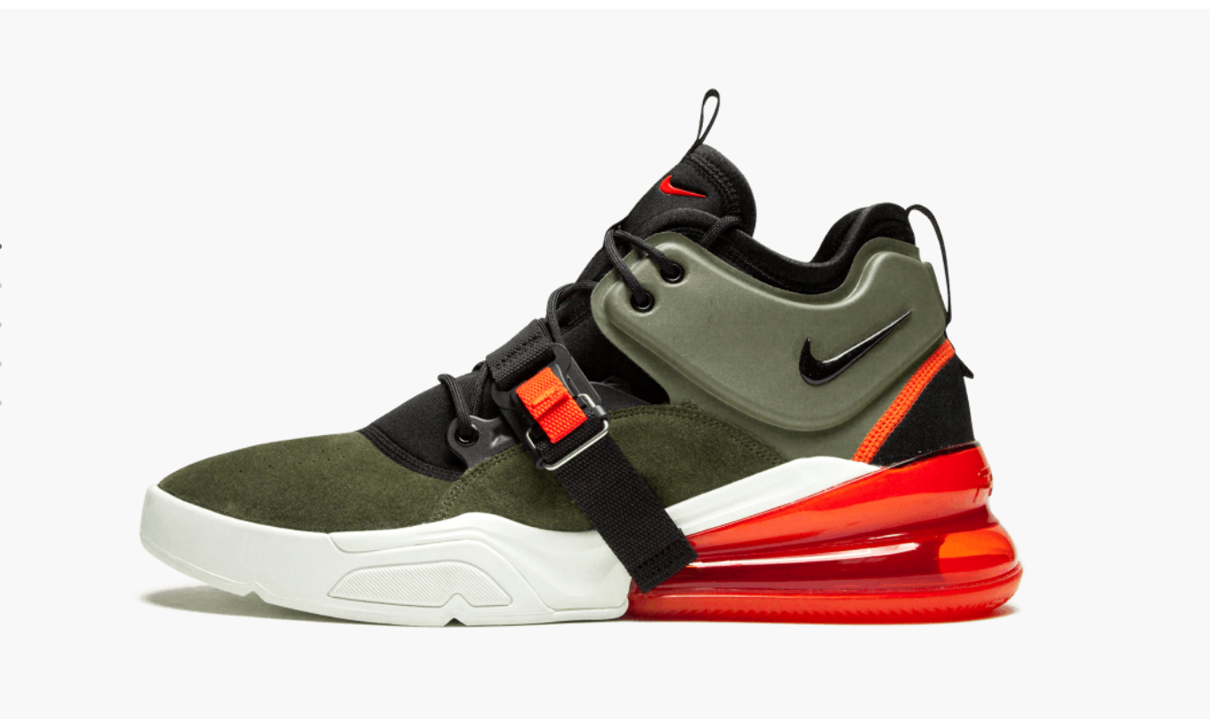 Nike Air Force 270 Medium Olive Men's - Pimp Kicks