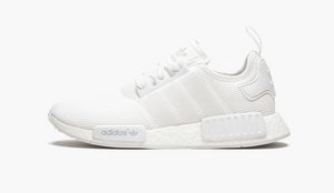 Adidas NMD R1 Monochrome White Mesh Men's - Pimp Kicks