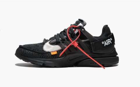 Off-White x Nike Air Presto Black Men's - Pimp Kicks