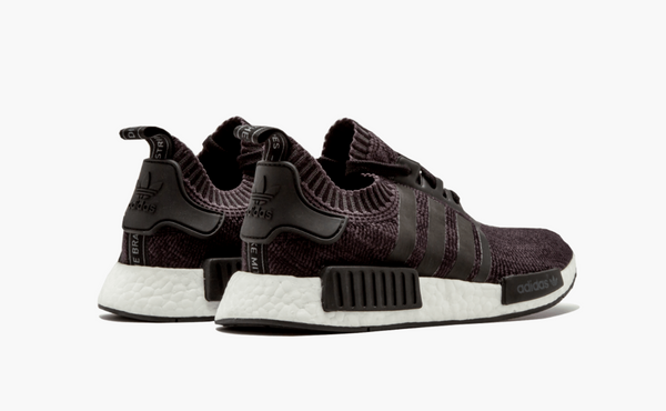 Adidas NMD R1 Primeknit Winter Wool Black Men's