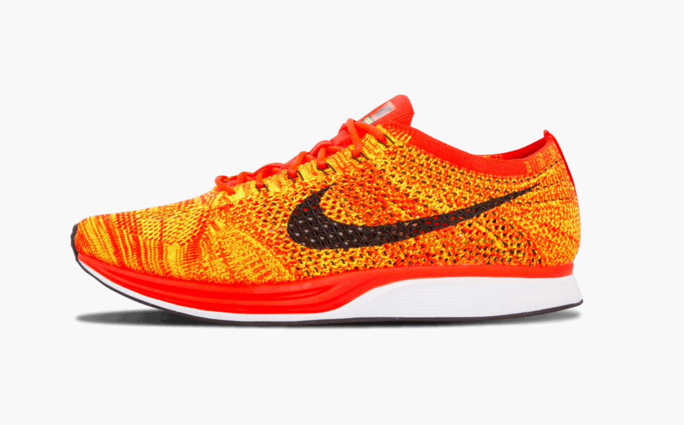 Nike Flyknit Racer Bright Crimson Men's - Pimp Kicks