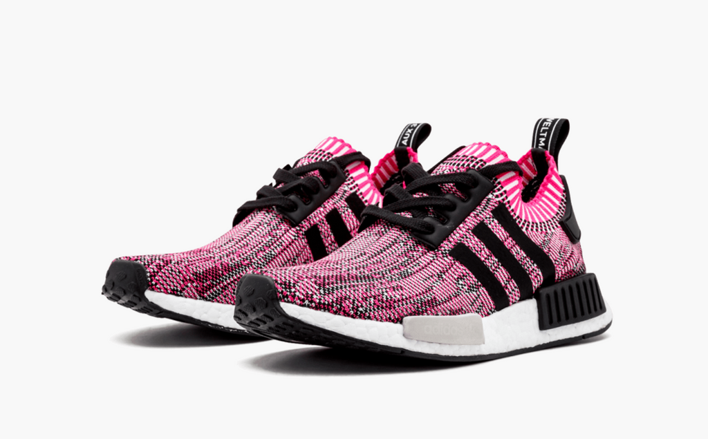 Adidas NMD_R1 W White & Icey Pink   END.