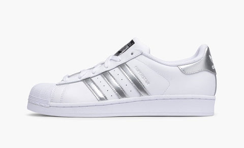 Adidas Superstar Silver Women's - Pimp Kicks