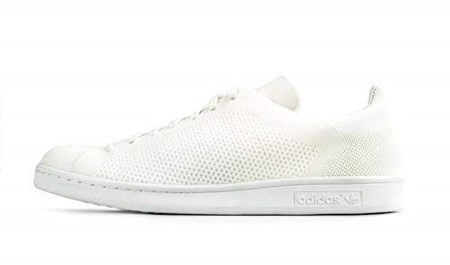 pretty cool cheap for discount detailing Adidas Stan Smith Primeknit White Men's