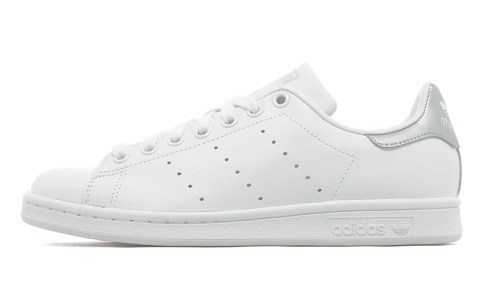 Adidas Stan Smith Silver Tab Women's - Pimp Kicks