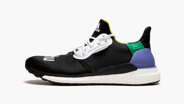 Adidas Solar HU Glide Pharrell Core Black Women's - Pimp Kicks