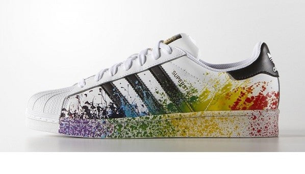 Adidas Superstar Splatter Men's - Pimp Kicks