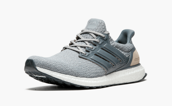 Adidas Ultra Boost Leather Caged Gray V3 Men's - Pimp Kicks