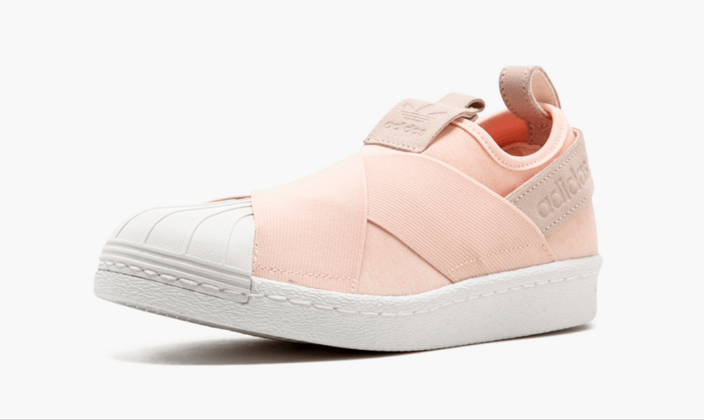 87b5a411959674 ... Adidas Superstar Slip On Pink Salmon Women s - Pimp Kicks ...