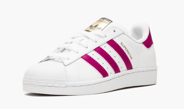 Adidas Superstar Foundation Scarlet Pink Junior - Pimp Kicks