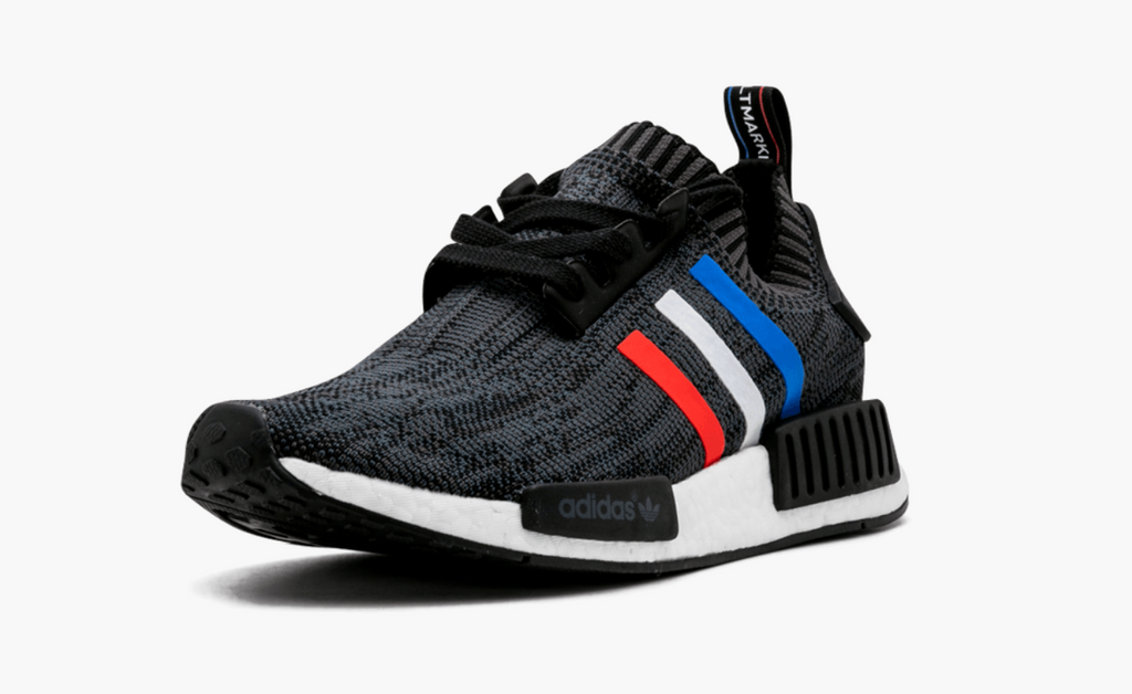 purchase cheap 214d5 cc3ce Adidas NMD R1 Primeknit Tri-Color Black Men's – Pimp Kicks
