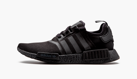 Adidas NMD R1 Mesh Triple Black Men's - Pimp Kicks