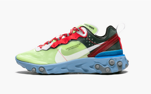 Nike  React Element Undercover  87 Volt Blue  Men's - Pimp Kicks