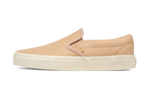 Vans Slip On DX Leather Veggie Tan Men's - Pimp Kicks