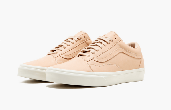 Vans Old Skool DX Leather Veggie Tan Men's - Pimp Kicks