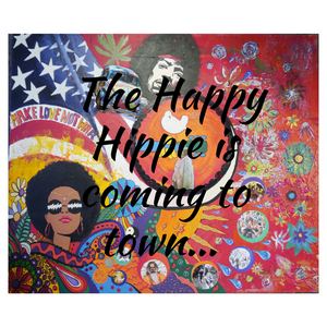The Happy Hippie is coming to town