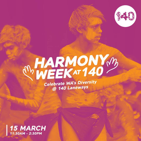 The Beehive Well-Beeing Bar celebrating Harmony Week at 140 Perth