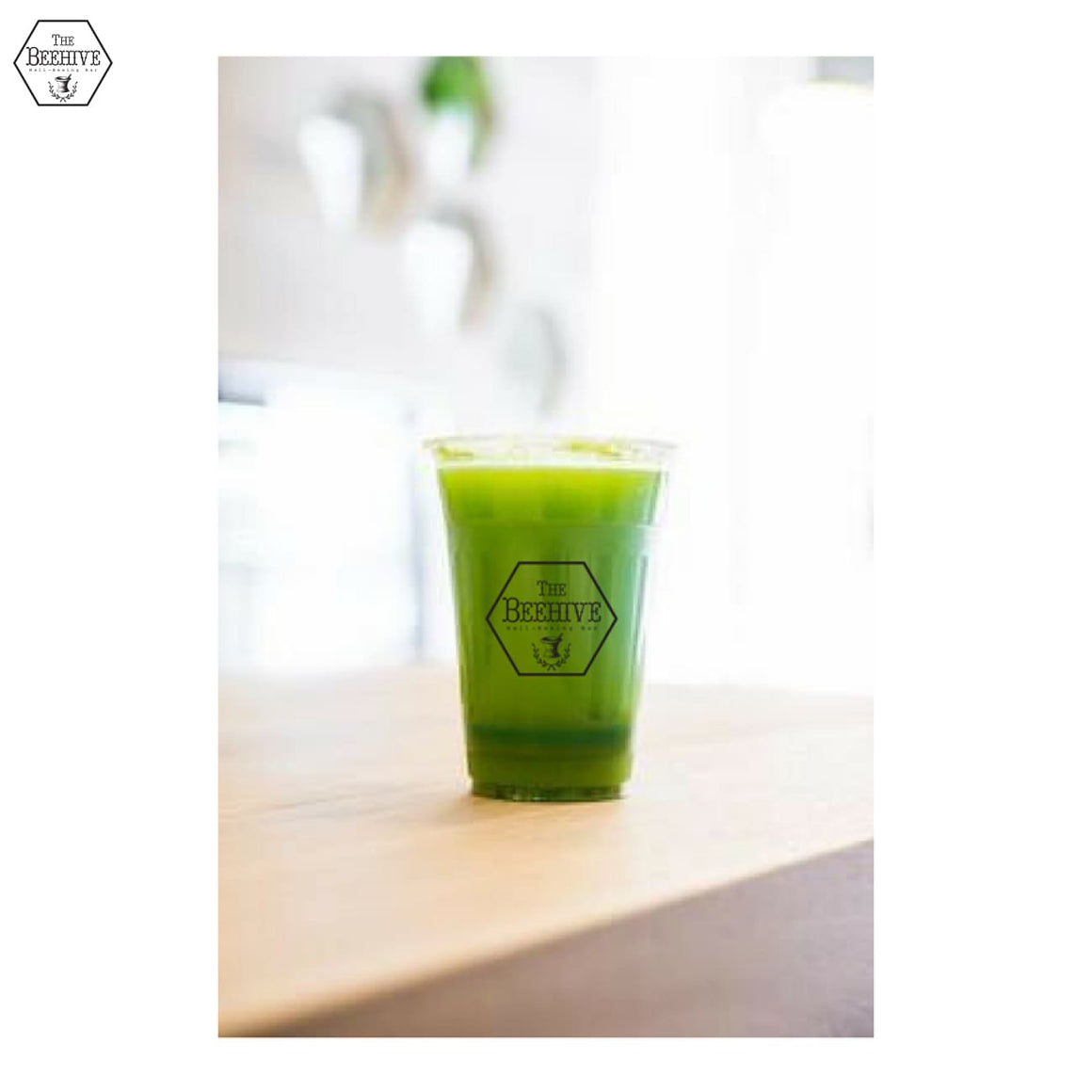 Gorgeous Greens - Cold-pressed Juice - The Beehive Well-Beeing Bar