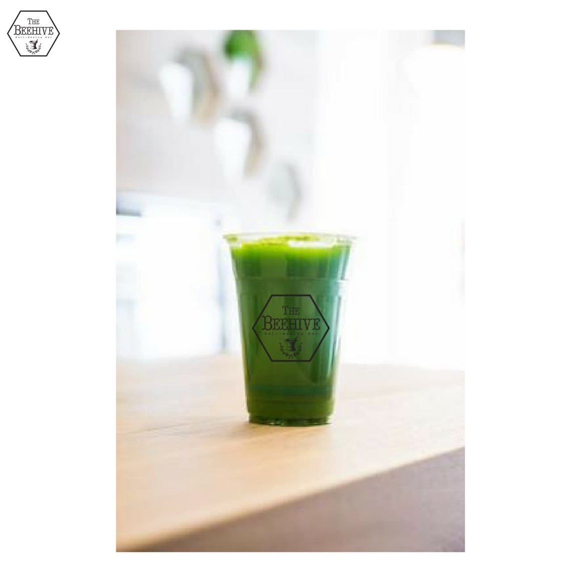 Green With Envy - Cold-pressed Juice - The Beehive Well-Beeing Bar