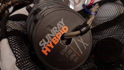 Sunray hybrid fluorocarbon tippet