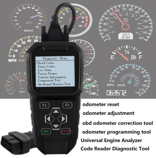 OBDPROG MT401 Odometer Adjustment Mileage Correction + OBDII