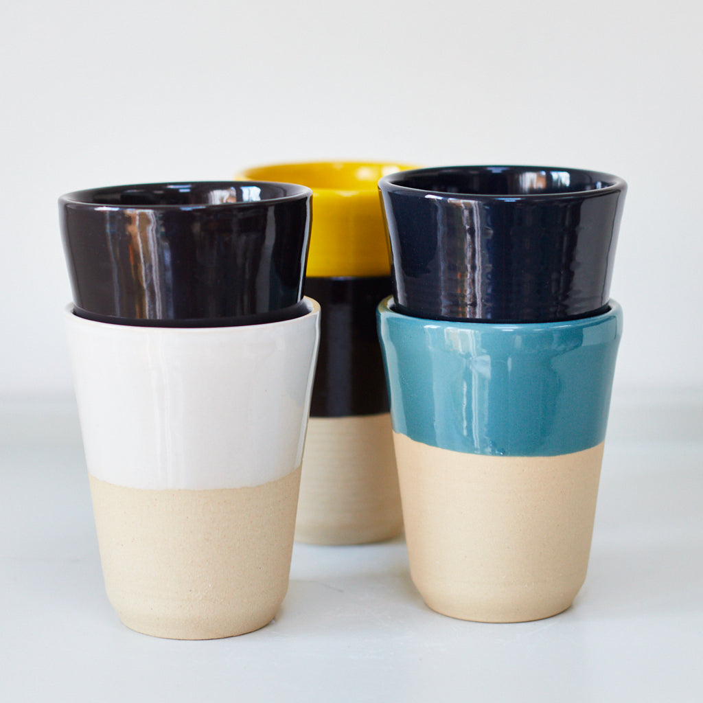 Cups - Mustard Yellow - Vinegar Shed