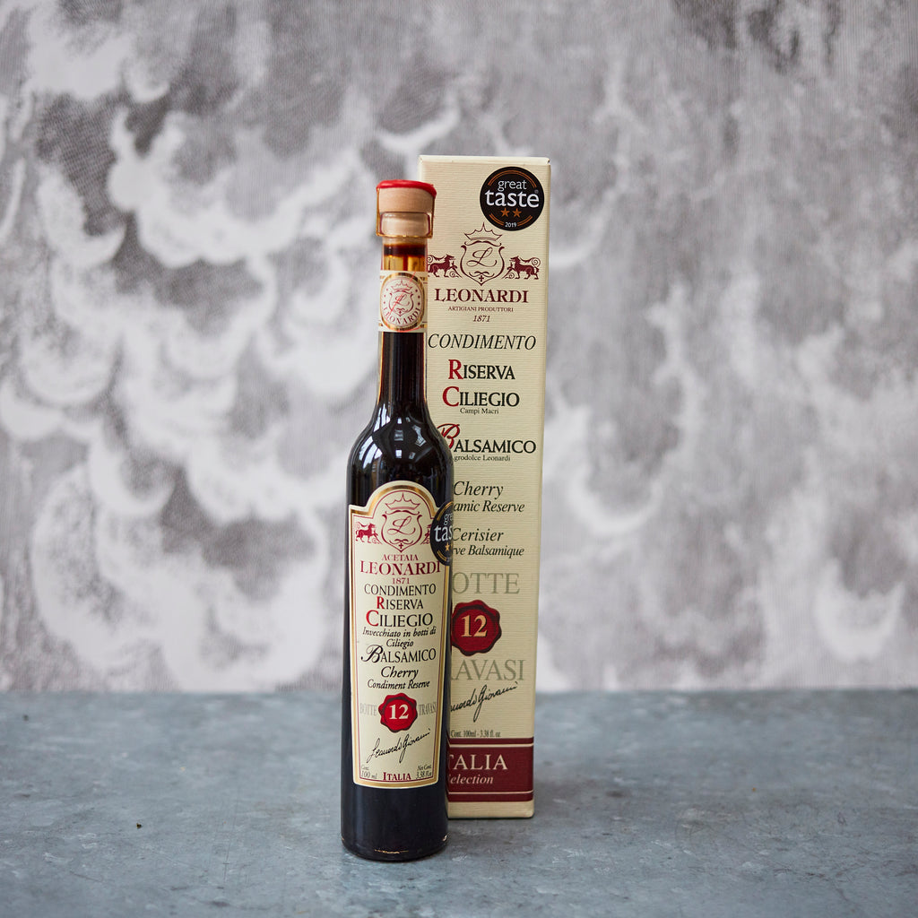 Acetaia Leonardi Cherry Balsamic Condimento (12 years) - Vinegar Shed