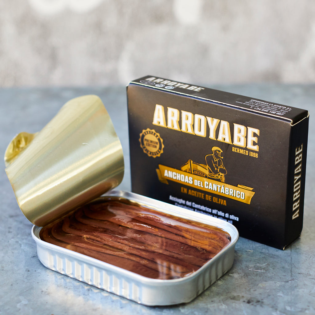 Premium Edition Anchovies in Olive Oil - Vinegar Shed