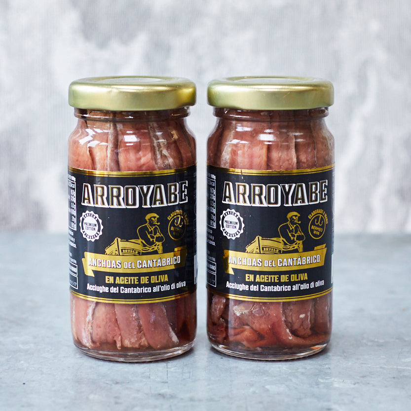 'Premium Edition' Anchovies in olive oil - Vinegar Shed