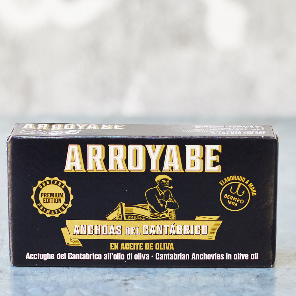 Arroyabe 'Premium Edition' Anchovies in olive oil - Vinegar Shed