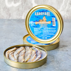 Garfish in sunflower oil - Vinegar Shed