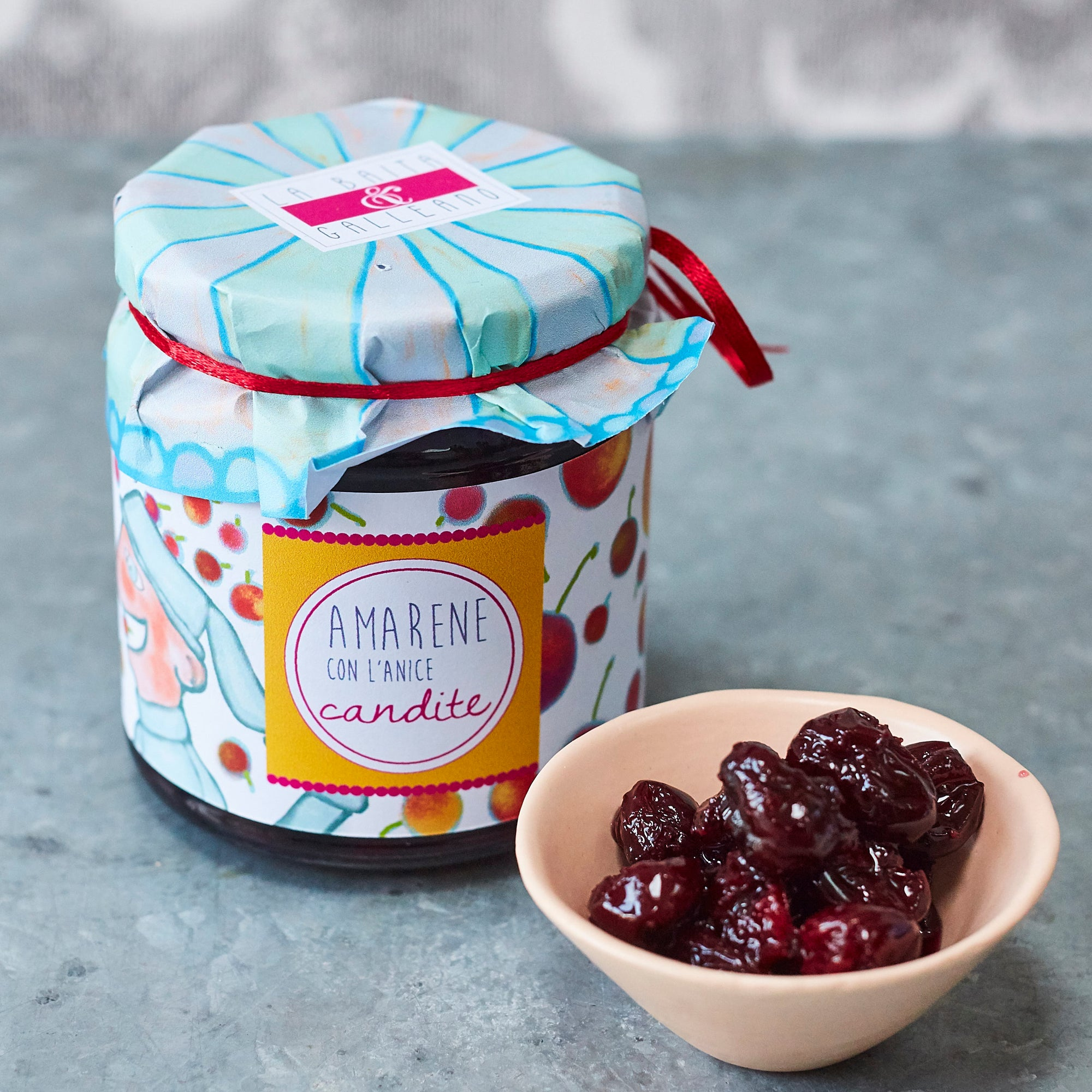 Sour Cherries with aniseed in syrup - Vinegar Shed