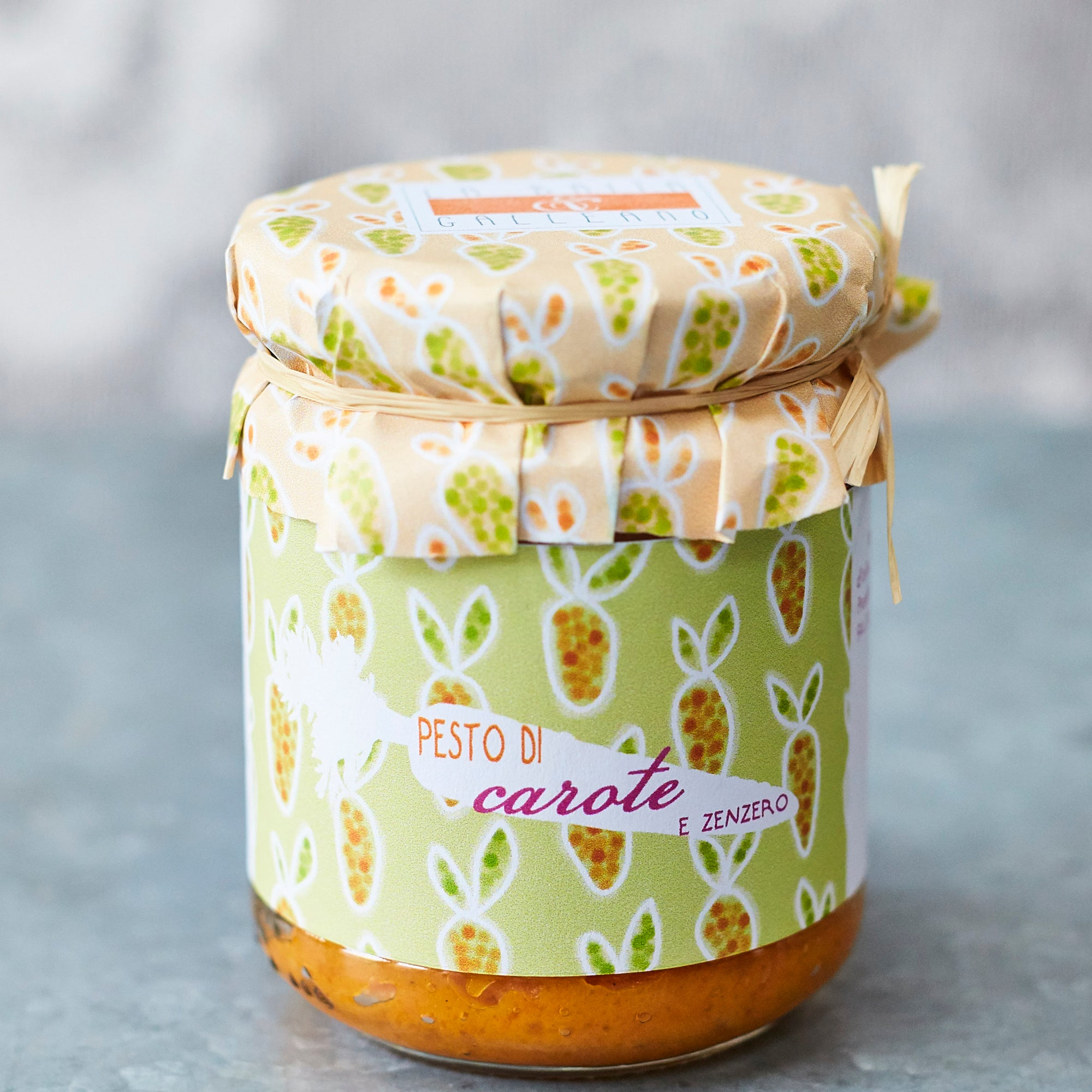 Carrot and Ginger Pesto - Vinegar Shed