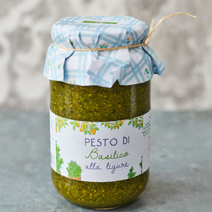 Basil Pesto - Vinegar Shed