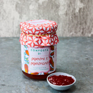 Red Pepper and Chilli Chutney - Vinegar Shed