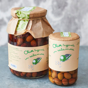 Taggiasca Olives in Salamoia - Vinegar Shed