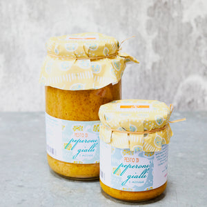 Yellow Pepper and Anchovy Pesto - Vinegar Shed